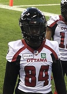R.J. Harris Professional Canadian football receiver
