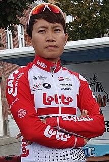 Nguyễn Thị Thật Vietnamese cyclist