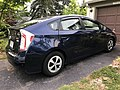2020-06-15 19 00 16 A dark blue 2014 Toyota Prius II along Tranquility Court in the Franklin Farm section of Oak Hill, Fairfax County, Virginia.jpg