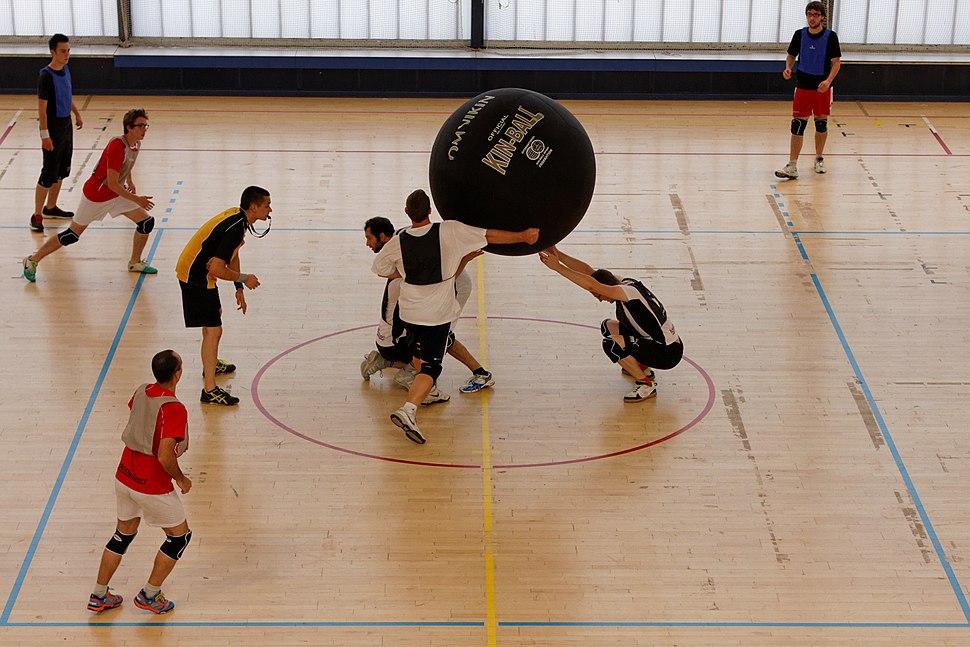20e journée du championnat de france 2013-2014 de Kin-Ball 081
