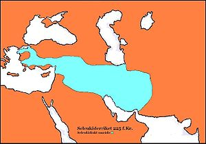 Antiochus III the Great - Seleucid Kingdom at the time of Antiochus's accession to the throne.
