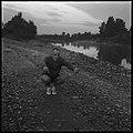 30.8.66. Le colonel Bigeard fait son footing quotidien à Lacroix-Falgarde (1966) - 53Fi5508.jpg