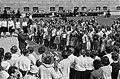 300 Kinderen zongen in Den Haag ter ere van het Haags kinderkoor De Kleine Stem, Bestanddeelnr 915-2229.jpg