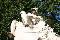 3420 - Milano - Ernesto Bazzaro (1859-1937) - Monumento a Felice Cavallotti (1906) - Foto Giovanni Dall'Orto 23-Jun-2007