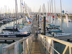 EDHEC Sailing Cup - La Rochelle Harbour during the 38th Edition.