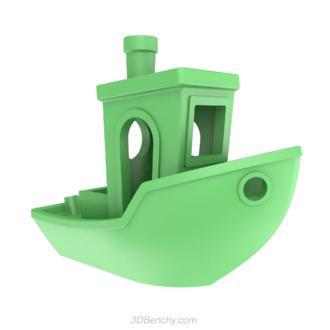 3DBenchy - The single material 3DBenchy model