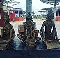 3 Bronze women at Eco Park.jpg