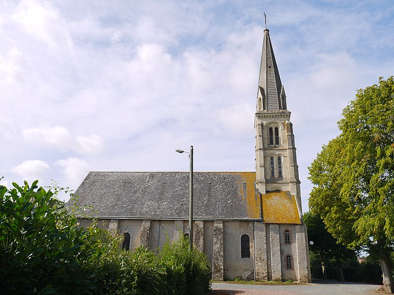 L'église Saint-Paul.