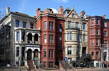 Edifici residenziali a Logan Circle