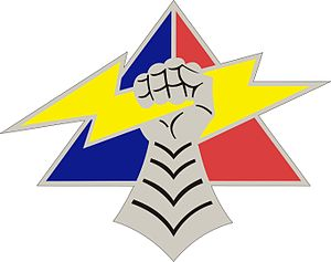 4th Armored Division (United States) - Image: 4 Arm Div DUI