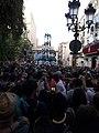 4 de 9 amb folre carregat pels Castellers de Vilafranca - Festa Major de Gràcia 2019 - 20190817 201057.jpg