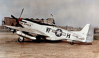 336th Fighter Squadron - P-51D of the 336th Fighter Squadron