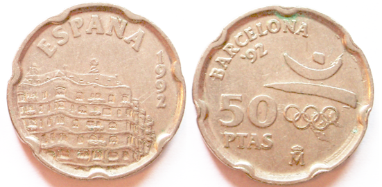 50 pesetas 1992 barcelona 92 pedrera.png