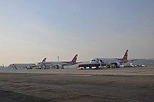Aeroporto di Krasnojarsk-Emel'janovo--757 nordwind in yemelyanovo