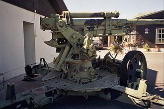 76 mm air defense gun M1931 - Image: 76 mm anti aircraft gun M31 in Kempele Jul 2008 002