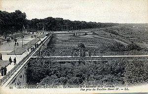 Forest of Saint-Germain-en-Laye - The terrace adjoining the Castle of Saint-Germain.