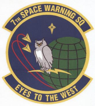 7th Space Warning Squadron - 7th Space Warning Squadron emblem