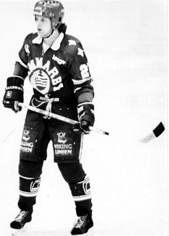 Hammarby Hockey - Orvar Stambert, who played for the original Hammarby Hockey 1978–1983