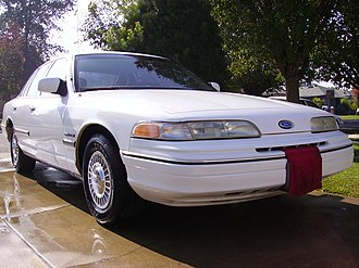 Ford Crown Victoria Police Interceptor - Image: 92 Crown Victoria Police
