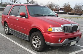 lincoln navigator wikipedia rh en wikipedia org Front Suspension 2002 Lincoln Blackwood 2002 Lincoln Blackwood Interior