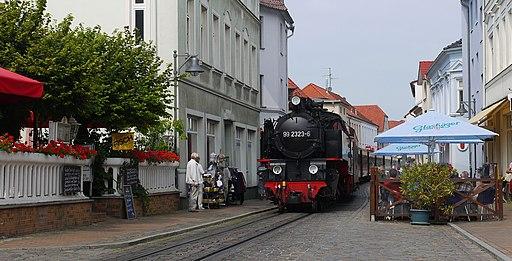 Bäderbahn Molli in Bad Doberan