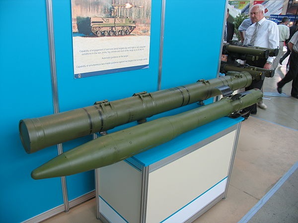 The 9M123 missile - 9M123 Khrizantema