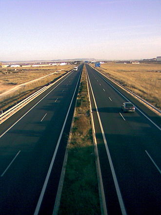 Autovía A-31 - Autovía A-31 in Albacete