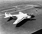 A-6A of VA-42 on USS Forrestal (CVA-59) in 1963.jpg