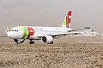 A320neo tap portugal at Sao Vicente.jpg