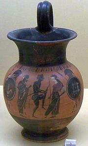 AGMA - Oinochoe with arming scene.jpg