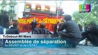 File:AG de séparation du Medef et de l'Etat 81Mars NuitDebout TvDebout live.webm
