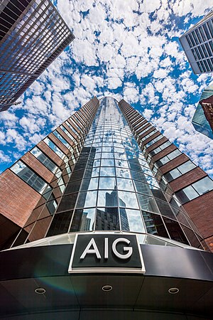 American International Group - AIG Headquarters in New York