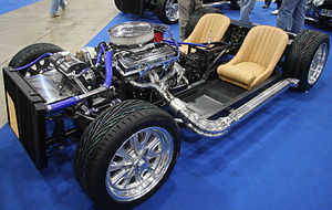 Rolling chassis - Modern kit car rolling chassis