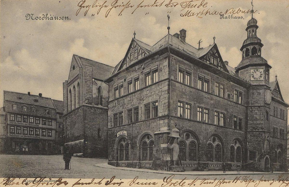Dr Heinrich Nordhausen st nikolai nordhausen
