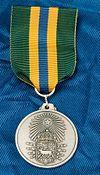 Hukommelse- og æresmedaljer stiftede ved korpset og bataljonen.