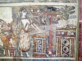 Hagia Triada sarcophagus tree scene