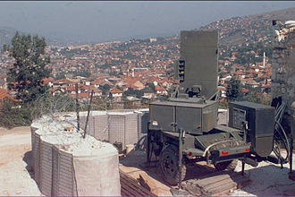 AN/TPQ-36 Firefinder radar - AN/TPQ-36 Firefinder Radar