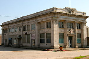 National Register of Historic Places listings in Jackson County, Arkansas - Image: AR Bank & Trust (FNB) Newport AR
