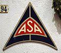 ASA enamel advert at the Louwman museum.JPG