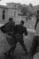 ASC Leiden - NSAG - van Es 1 - 036 - Two visiting Dutch students in a courtyard of Khartoum university - Khartoum, Sudan - around 23 - 29-11-1961.tif