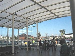 Concourse - Image: ASDA concourse Llandudno