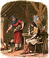 A Chronicle of England - Page 050 - Alfred in the Neatherd's Cottage.jpg