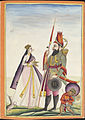 A Mughal warrior and his wife.jpg