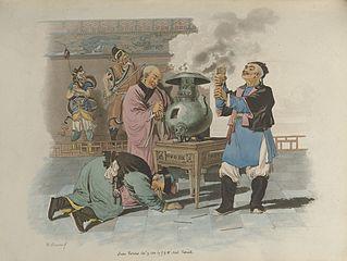 Räucherwerk China Tempelopfer