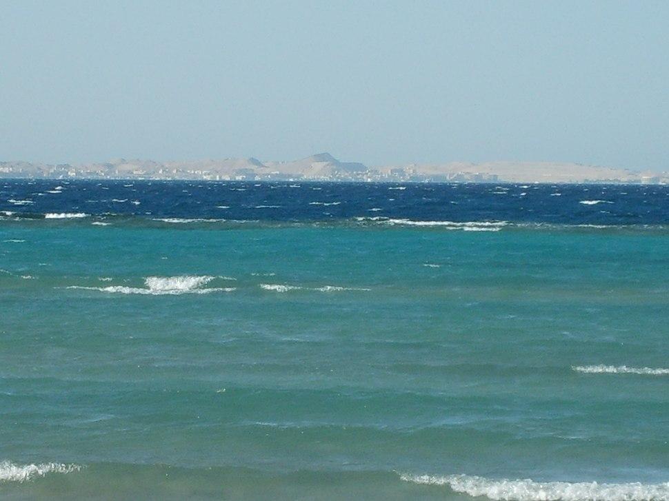 A Vörös-tenger az egyiptomi Hurghadánál