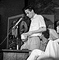 A mikrofonnál Molnár Péter, mögötte Szent-Iványi István és Fodor Gábor, jobbra Miszlivetz Ferenc. Fortepan 61621.jpg