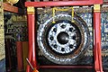 A typically Borneo style gong inside LP's Wat Xieng Thong (14604728332).jpg