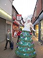 A walking Christmas tree - geograph.org.uk - 1596597.jpg