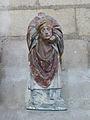 Abbaye Saint-Germain d'Auxerre-Statue de Saint Denis.jpg