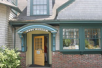 Bar Harbor, Maine - The Abbe Museum features the history and culture of Maine's native people, the Wabanaki.